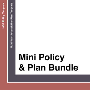Mini Policy & Plan Bundle