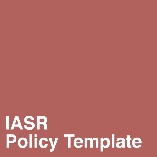 Integrated Accesibility Standards Regulation (IASR) Template